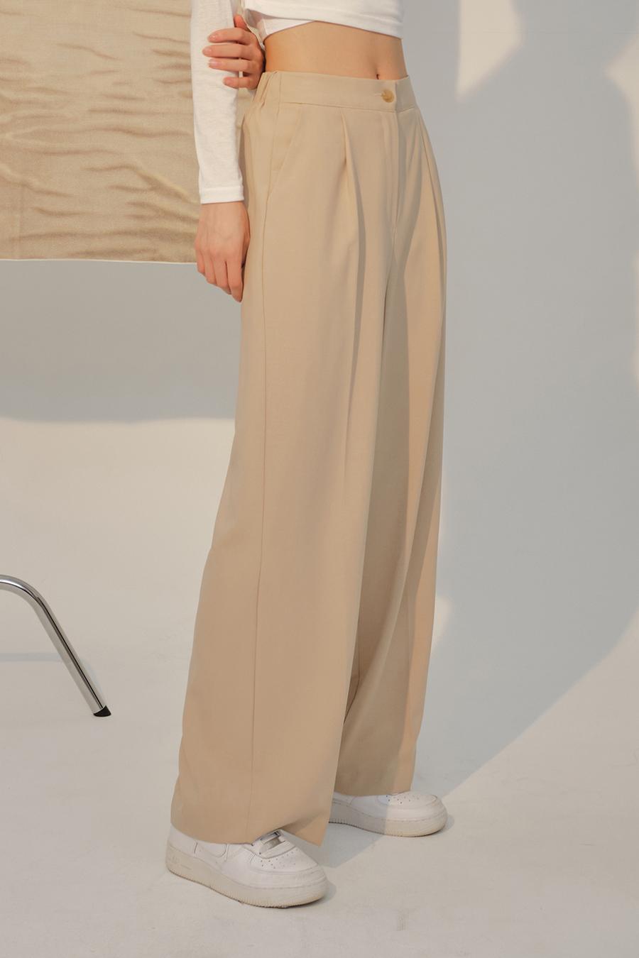 멜빵 스커트/바지 모델 착용 이미지-S1L40