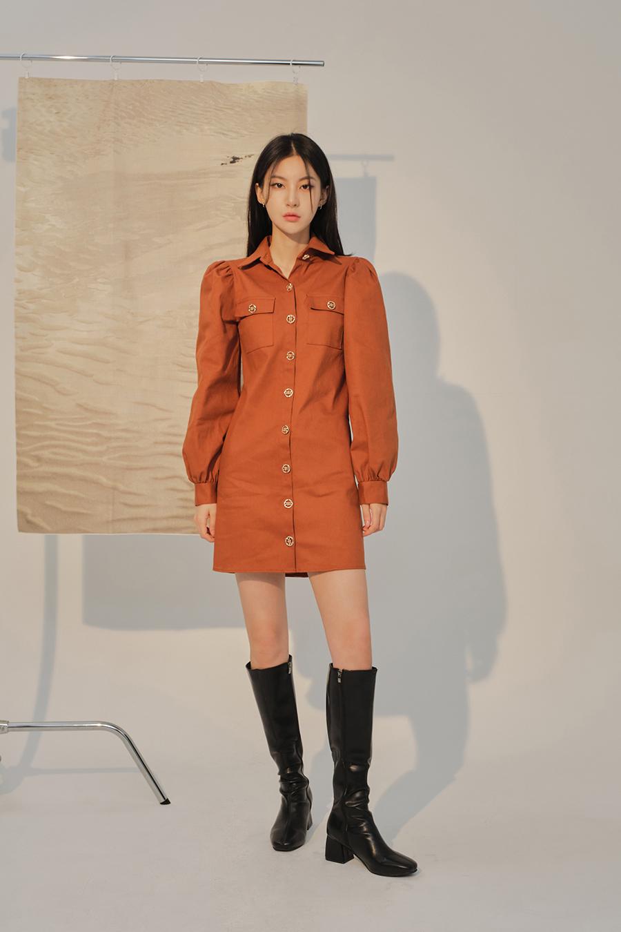 코트 모델 착용 이미지-S1L38