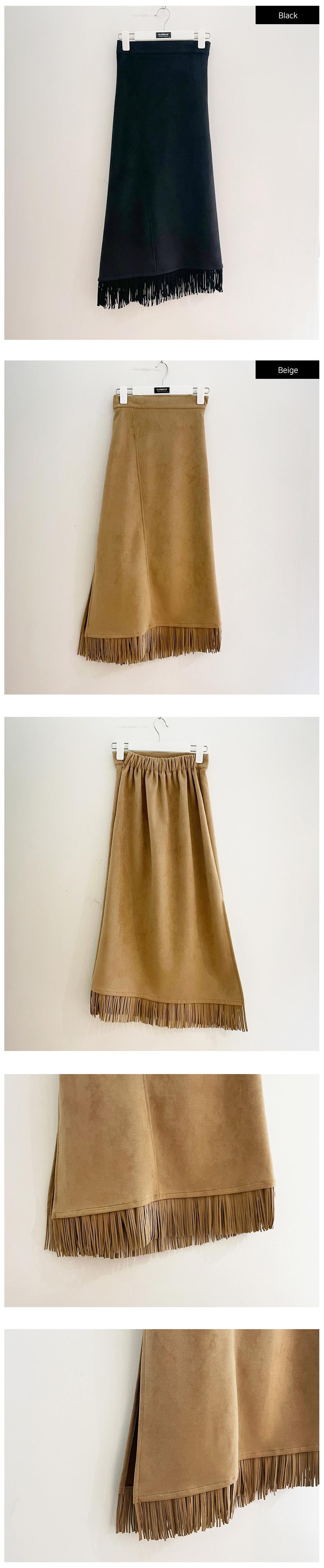 긴 드레스 카멜 색상 이미지-S1L44